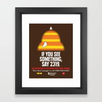 Twenty-three Nineteen! Framed Art Print