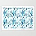 raindrop Art Print