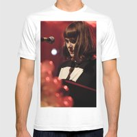 Kate Nash Mens Fitted Tee White SMALL