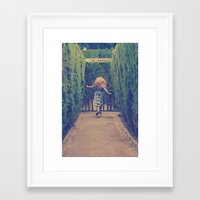 Alice world 1 Framed Art Print