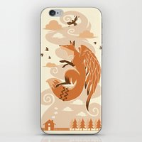 The Flying Fox's First Flight iPhone & iPod Skin