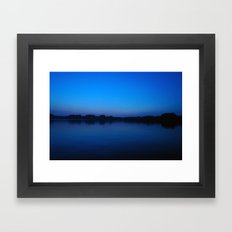 2006 - Blues After Sunset (High Res) Framed Art Print