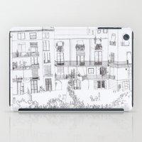 Algún lloc aprop del carrer Comtal iPad Case