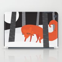 Winter Fox Vertical iPad Case