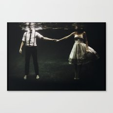 abyss of the disheartened : IX Canvas Print