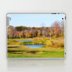 Fall at the Ponds Laptop & iPad Skin