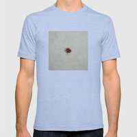 Ladybug Mens Fitted Tee Tri-Blue SMALL