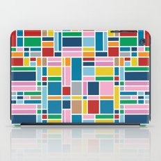 Stained Glass W iPad Case