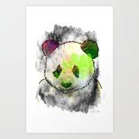 Marshmallow Panda Syndrome Art Print