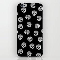 skull Moon iPhone & iPod Skin