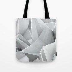 White Noiz Tote Bag