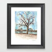 Flood Survivor Framed Art Print