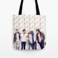 Floral 1D Tote Bag