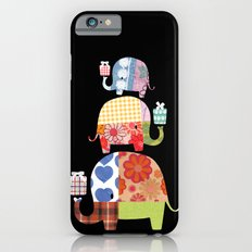 Patchwork Elephants - Gifts iPhone 6 Slim Case