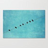 Pretty Little Birds Canvas Print
