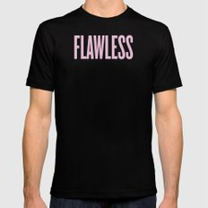 Flawless Mens Fitted Tee Black SMALL