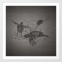 Dead Sea, Turtles Art Print