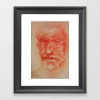Warm Framed Art Print