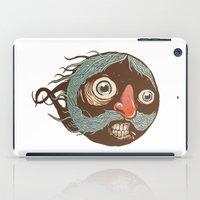 SuperMustacheMan iPad Case