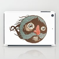 SuperMustacheMan iPad Case