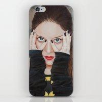 Bat-man • SuperHeroines iPhone & iPod Skin