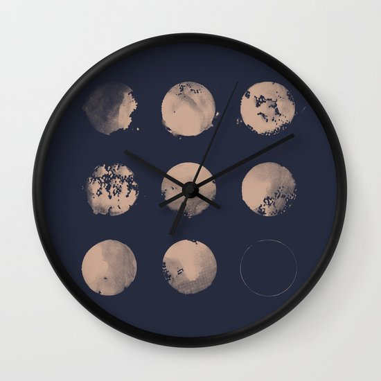 Douze Lunes Wall Clock