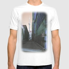 shining spire... Mens Fitted Tee White SMALL