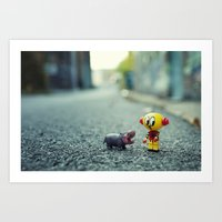 HI!! I Told You I Don't … Art Print