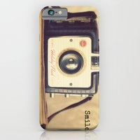 iPhone & iPod Case featuring Smile by RDelean