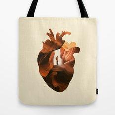 Heart Explorer Tote Bag
