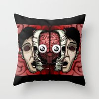 Expand your mind v.2 Throw Pillow