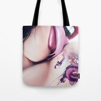 Suicide Girl Tote Bag