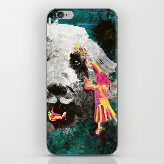 Pandamonium iPhone & iPod Skin