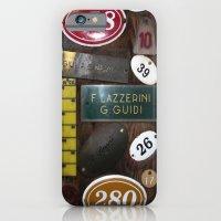 Italien Name Plates 2 iPhone 6 Slim Case