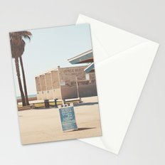 Muscle beach Stationery Cards