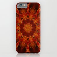 iPhone & iPod Case featuring Kaleidoscoped Marigold by TaLins
