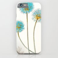 iPhone & iPod Case featuring Vintage Aqua Beauties by Kokabella