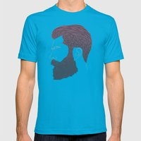 man style 01 Mens Fitted Tee Teal SMALL