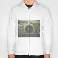 Vintage Airplane Engine  Hoody