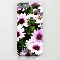 iPhone & iPod Case featuring Purple stillness by seb mcnulty