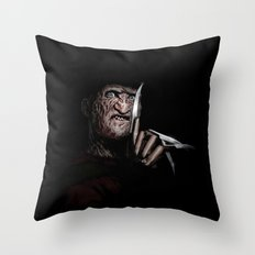 FREDDY KRUEGER! Throw Pillow
