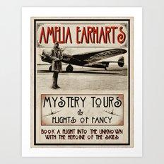 Mystery Tours & Flights of Fancy Art Print
