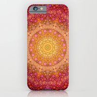 Love Will Find A Way -- Kaleidescope Mandala in the colors of Love iPhone 6 Slim Case