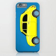 A tiny Fiat (blue) Slim Case iPhone 6s