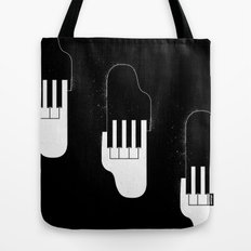 Music Hands Tote Bag