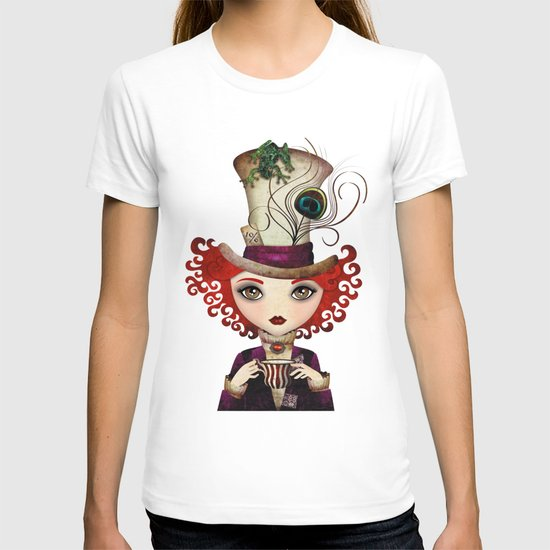 Lady Hatter T-shirt