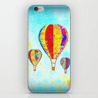 Beautiful Balloons Mosaic-Look iPhone & iPod Skin