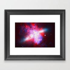 Space. In Color. Framed Art Print