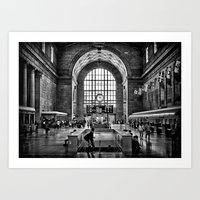 Toronto Union Station 3:… Art Print