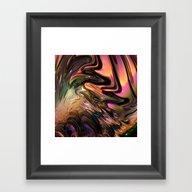 N77 Fractal Framed Art Print